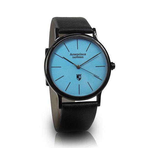 ~Arseprince~彩虹之夜簡約中性錶~藍色
