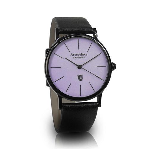 ~Arseprince~彩虹之夜簡約中性錶~紫色