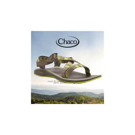 【美国 Chaco】女款 户外休闲凉鞋.耐磨.排流.止滑.适沙滩.溯溪.健行/ CH-ETW23H960 (渐层绿)