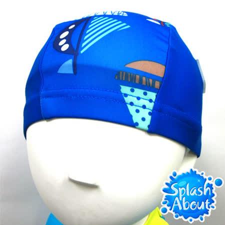 Splash About 潑寶 UV Swim Hat 抗UV泳帽-普普風帆船
