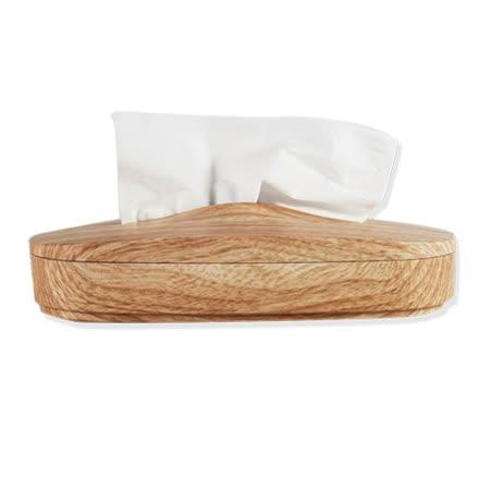 【台灣製造】神奇伸縮面紙盒(仿木紋)- 專利在案 仿冒必究