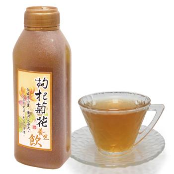 康健生機 枸杞菊花養生飲 (450ml/瓶)(24入/箱*2)