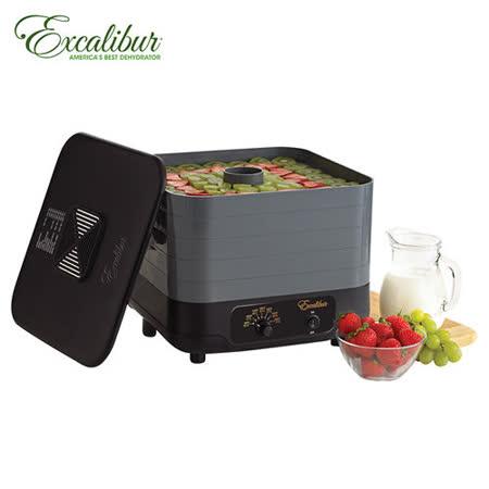 《Excalibur》伊卡莉柏全營養低溫乾果機五層-直風式 (ECB50B)