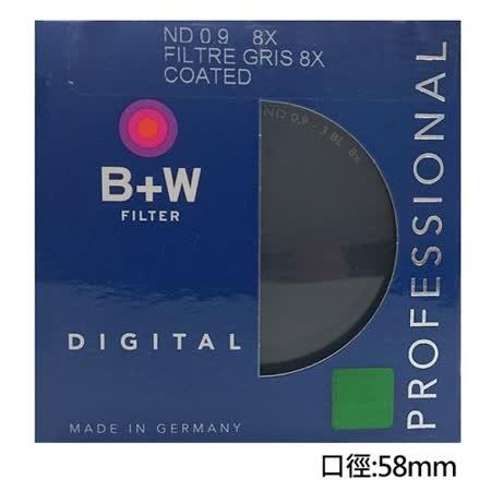 B+W 103 ND8多層鍍膜減光鏡58mm (公司貨)