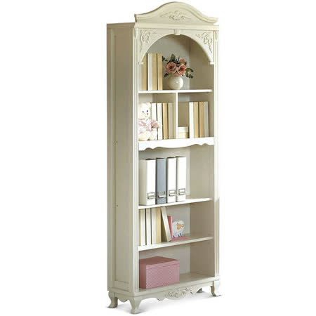MY傢俬 歐式古典2.7尺開放式書櫃