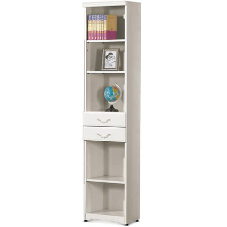 MY傢俬 法式古典二抽1.4尺開放式系統書櫃