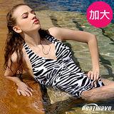 【Heatwave熱浪】極緻品味 加大萊克三角連身泳衣-81646