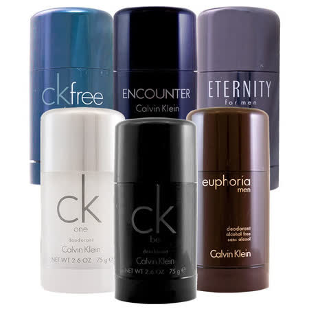 Calvin Klein 體香膏任選二入即送藍寶堅尼體香劑