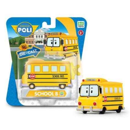 (購物車)《POLI 波力》合金單車系列-校車哥哥