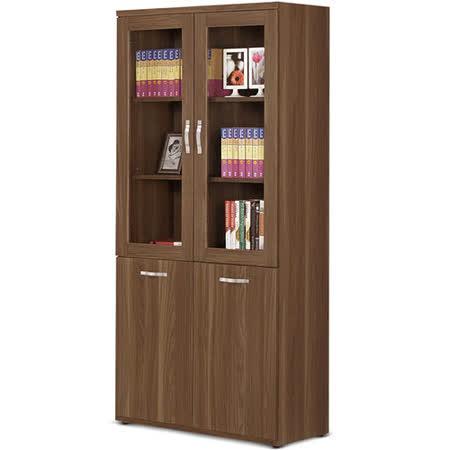 MY傢俬 木紋設計2.7尺系統書櫃