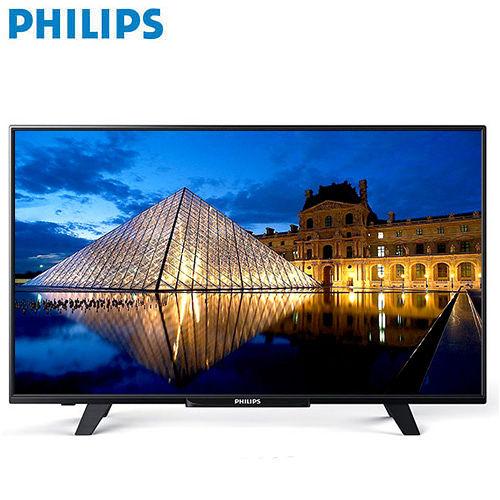 PHILIPS飛利浦 43吋IPS Full HD LED液晶顯示器+視訊盒(43PFH5210)送基本安裝+HDMI線+清潔組