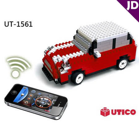 【UTICO】智慧手機遙控積木車-MINI 古博 1561