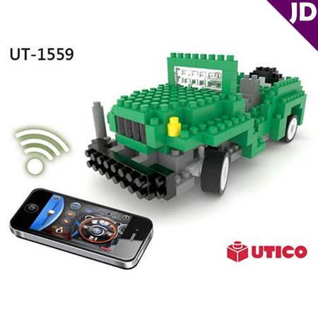 【UTICO】智慧手機遙控積木車-Jeep 吉普車 1559