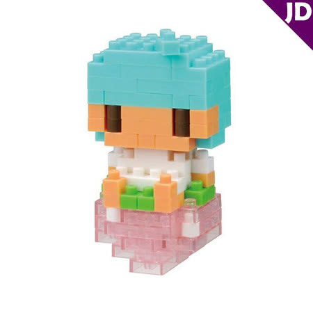 【Nano Block任選館】Hello Kitty系列 - 雙子星KIKI與草莓 NBCC-020