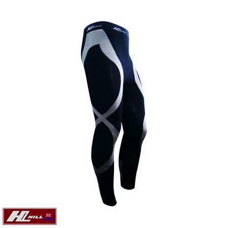 【HILL】+Plus運動/路跑 涼感壓縮褲/壓力褲-男款