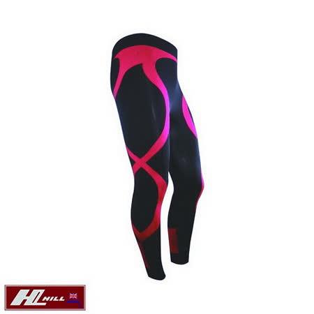 【HILL】+Plus運動/路跑 涼感壓縮褲/壓力褲-女款
