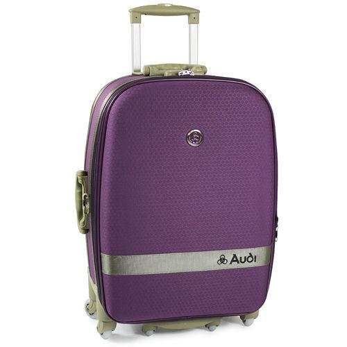 【Audi 奧迪】20吋新蜂巢格8輪360度~行李箱旅tw shopping行箱 LT-71520-淺紫