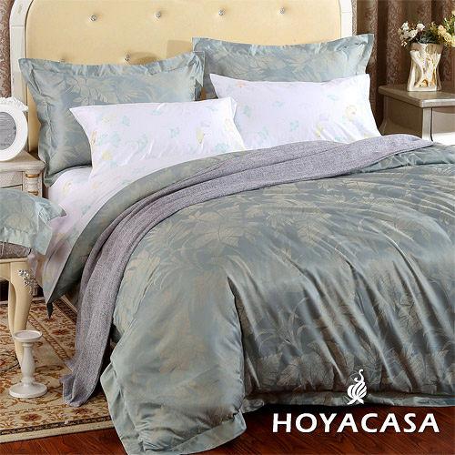 ~HOYACASA 雅典黎明~加大七件式60支長絨棉被套床包組