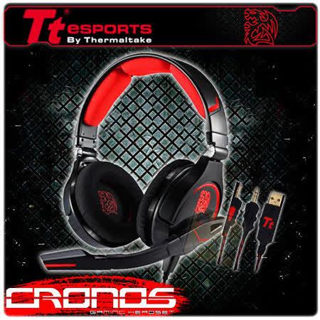 曜越 TT eSports 克諾司 CRONOS 電競耳機麥克風 (黑)