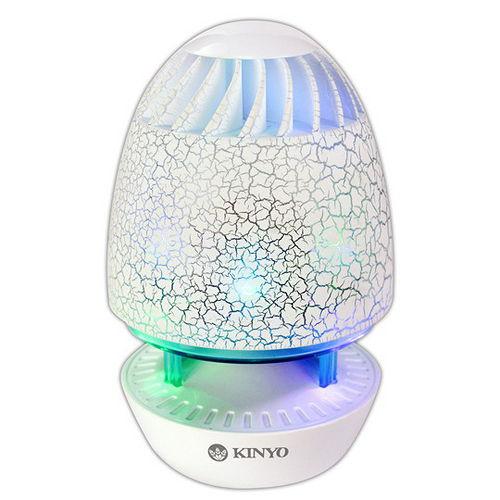 【KINYO】雷光彈USB供電LED炫光立體聲喇叭(US-180)