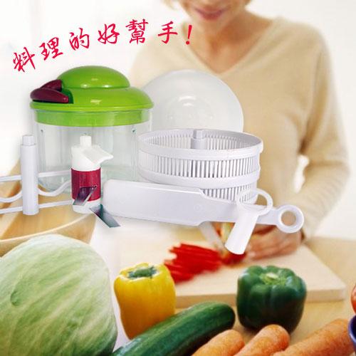 ^~ 通^~蔬果拉拉霸 蔬果調理器 調理機 廚具 切菜 打碎機