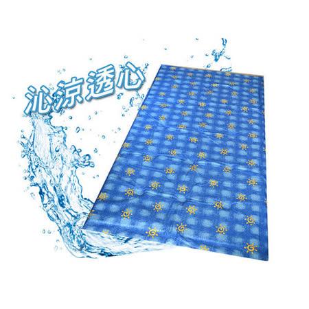 [百貨通]睡得涼 單人睡墊 超級涼墊 水床 水墊 水涼墊