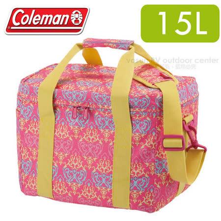 【美國Coleman】紅葉圖騰保冷袋15L _CM-22230