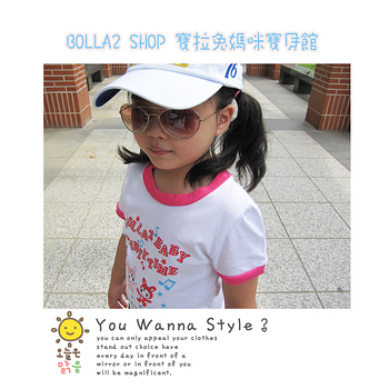 ☆BOLLA2☆   ☆BOLLA2☆ 韓款 音樂派對 女童T CT03 -白