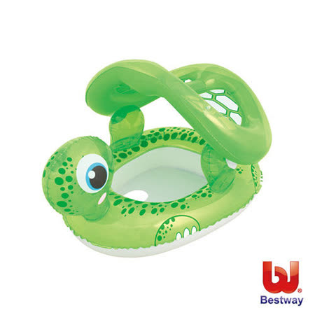 《購犀利》美國品牌【Bestway】海龜抗UV充氣座圈