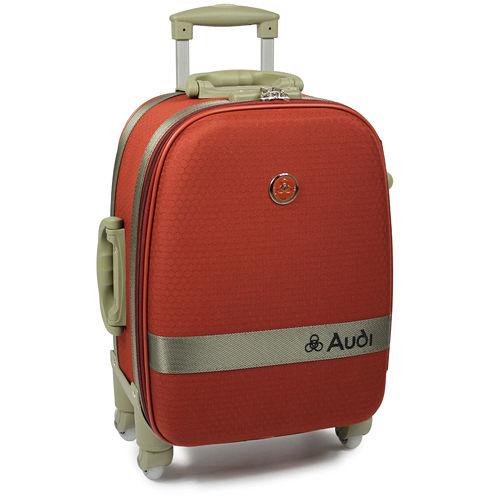 【A101 百貨udi 奧迪】18吋新蜂巢格4輪360度~行李箱旅行箱 LT-71518-橘