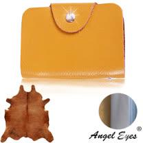 【AngelEyes】時尚簡約小牛真皮18卡層信用卡夾(共3色)BW-8374-5