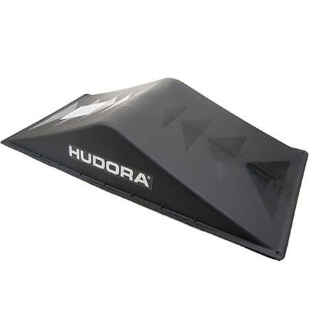 HUDORA 滑板--直排輪--BMX車--遙控車--多用途極限運動專用小斜坡--雙斜坡 黑