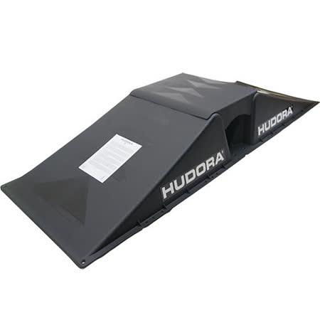 HUDORA 滑板--直排輪--BMX車--遙控車--多用途極限運動專用小型平台--三合一 黑