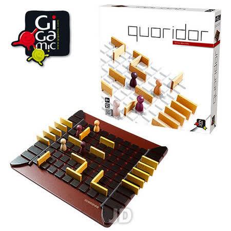 【 法國桌神 Gigamic 益智遊戲 】Quoridor 步步為營 標準版