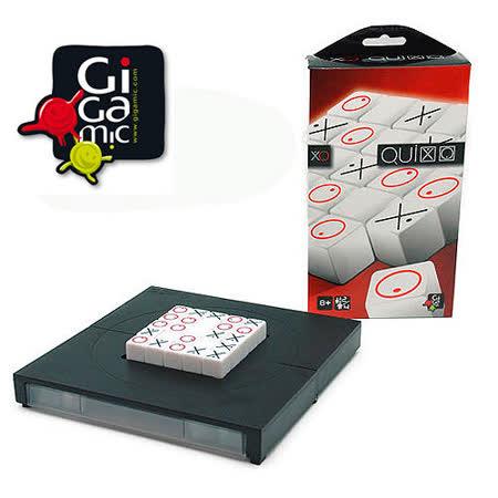【 法國桌神 Gigamic 益智遊戲 】Quixo Pocket 你推我擠 口袋版