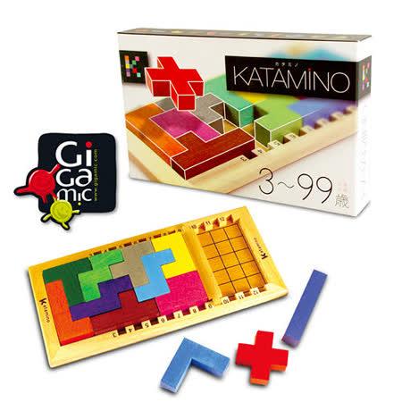 【 法國桌神 Gigamic 益智遊戲 】Katamino 挑戰金頭腦 單人版