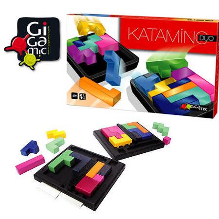 【 法國桌神 Gigamic 益智遊戲 】Katamino Duo 挑戰金頭腦 雙人版