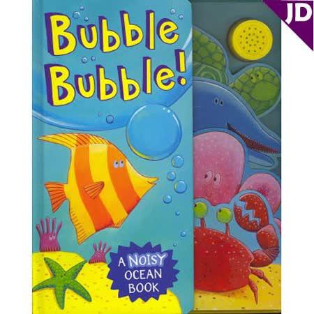 【英國Caterpillar原文童書】海洋世界吹泡泡遊戲有聲書 Bubble Bubble!