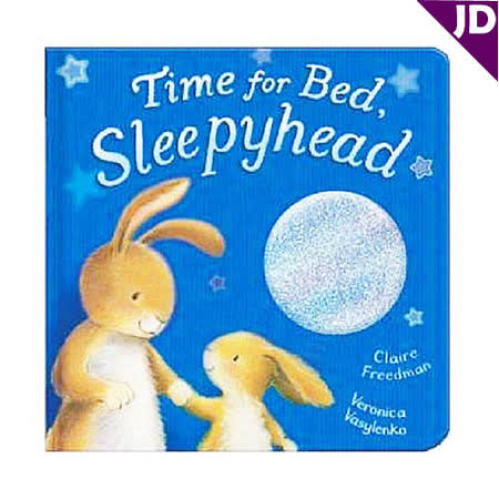 【英國Caterpillar原文童書】Time for Bed, Sleepyhead 觸摸書