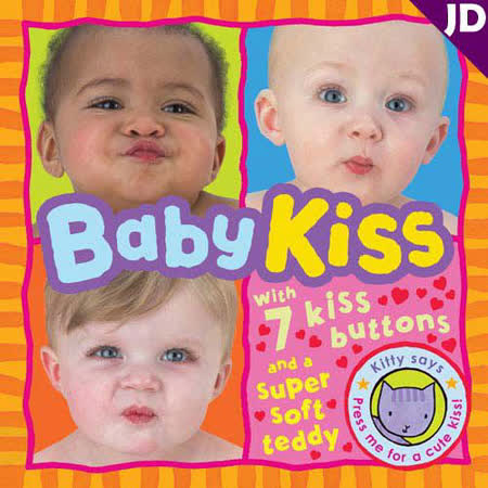 【英國Caterpillar原文童書】Baby Kiss 有聲書