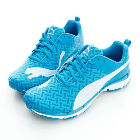 PUMA(男)Mobium Ride PWRCOOL 慢跑鞋-藍白-18781701