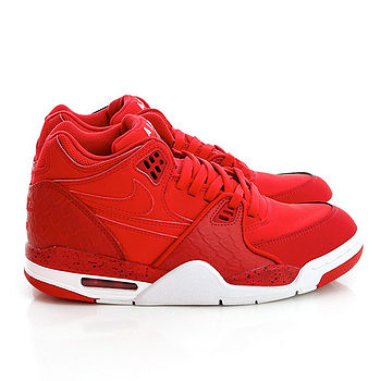 NIKE(男/女)Air Flight 89 氣墊籃球鞋-紅-306252601