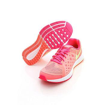 NIKE(女)Zoom Pegasus 31 GS 慢跑鞋-粉橘-654413600