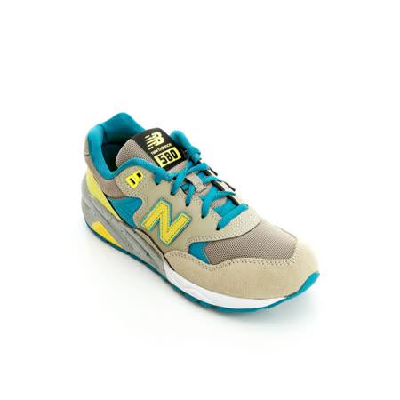 New Balance(女)經典慢跑鞋-卡其藍-MRT580BS