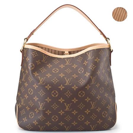 Louis Vuitton LV M50154 Delightful PM 經典花紋皮飾邊肩背包_預購