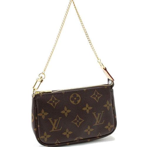Louis Vuitton M58009 圖紋鍊子包.小_