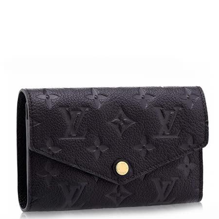 Louis Vuitton LV M60568  Compact Curieuse 經典花紋全皮革壓紋中夾_預購