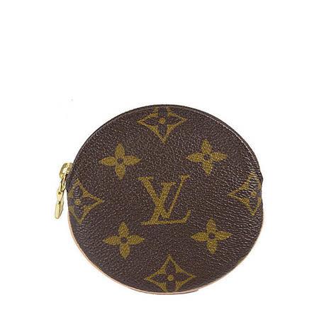 Louis Vuitton LV M61926 Monogram 經典花紋圓形零錢包.預購