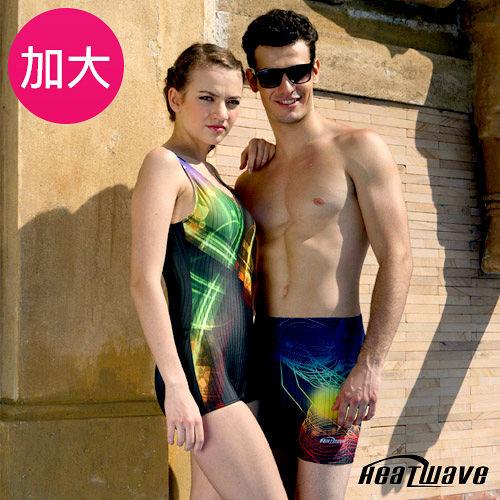 【Heatwave熱浪】炫采奇姬 加大萊克連身裙泳裝-8164新竹 市 愛 買8