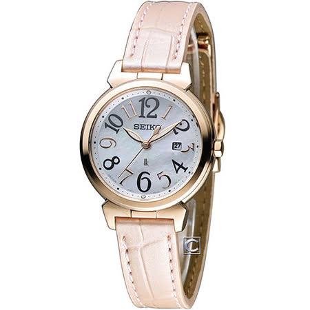 精工 SEIKO LUKIA 無限狂想曲時尚腕錶 V137-0BF0P SUT190J1